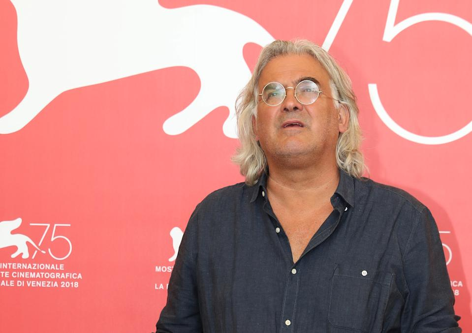 "The 75th Venice International Film Festival - Photocall for the film ""22 July"" competing in the Venezia 75 section - Venice, Italy, September 5, 2018 - Director Paul Greengrass. REUTERS/Tony Gentile"