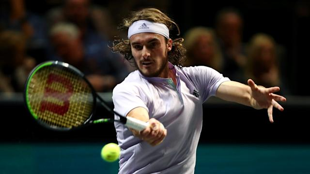 Daniil Medvedev was followed out of the Rotterdam Open by Stefanos Tsitsipas and David Goffin on Thursday.