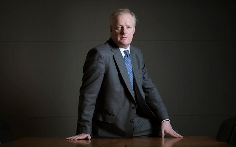 Simon Peckham, chief executive of turnaround investor Melrose, says his company's bid for GKN offers better value for shareholders - Geoff Pugh for the Telegraph