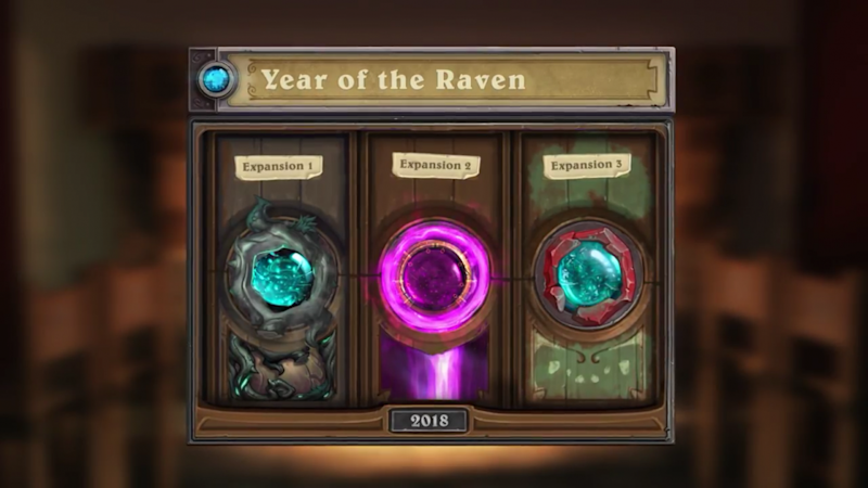 Hearthstone Marks 2018 as the 'Year of the Raven'