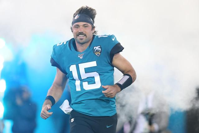 There's a new man under center in Jacksonville and we know where to find his jersey. (Photo by David Rosenblum/Icon Sportswire via Getty Images)