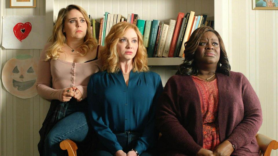"""<p>How far would a good mother go to provide for her children? Sisters Beth and Annie and their best friend Ruby answer that question when these three moms work together to pull off a heist that could solve all of their <a href=""""https://www.popsugar.com/family/Should-You-Merge-Your-Finances-Your-Partner-44530158"""" class=""""link rapid-noclick-resp"""" rel=""""nofollow noopener"""" target=""""_blank"""" data-ylk=""""slk:individual financial woes"""">individual financial woes</a> - but that perfect plan, of course, comes with plenty of unexpected complications.</p> <p><a href=""""http://www.netflix.com/title/80177342"""" class=""""link rapid-noclick-resp"""" rel=""""nofollow noopener"""" target=""""_blank"""" data-ylk=""""slk:Watch Good Girls on Netflix"""">Watch <strong>Good Girls </strong>on Netflix</a>.</p>"""