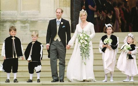 Prince Edward, Earl of Wessex, married Sophie Rhys-Jones - now the Countess of Wessex - Credit: IAN JONES