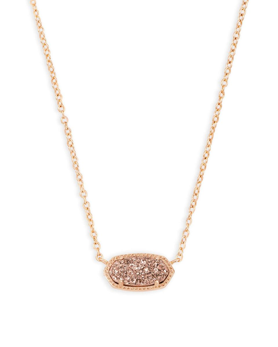 "<p><strong>Kendra Scott</strong></p><p>nordstrom.com</p><p><strong>$65.00</strong></p><p><a href=""https://go.redirectingat.com?id=74968X1596630&url=https%3A%2F%2Fshop.nordstrom.com%2Fs%2Fkendra-scott-elisa-pendant-necklace%2F3803423&sref=https%3A%2F%2Fwww.goodhousekeeping.com%2Fholidays%2Fgift-ideas%2Fg4376%2Flaw-school-graduation-gifts%2F"" rel=""nofollow noopener"" target=""_blank"" data-ylk=""slk:Shop Now"" class=""link rapid-noclick-resp"">Shop Now</a></p><p>Pick from 15 pendant and chain combinations until you find a necklace that'll match her day-to-day style. If she prefers something more understated, consider the filigree styles. </p>"