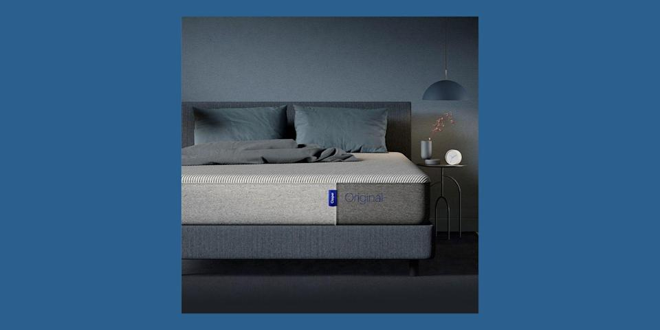 """<p>The first brand to make the bed-in-a-box trend happen back in 2014, <a href=""""https://go.redirectingat.com?id=74968X1596630&url=https%3A%2F%2Fcasper.com%2Fhome-2020%2F&sref=https%3A%2F%2Fwww.housebeautiful.com%2Fshopping%2Ffurniture%2Fg32291079%2Fbest-mattress-brands%2F"""" rel=""""nofollow noopener"""" target=""""_blank"""" data-ylk=""""slk:Casper"""" class=""""link rapid-noclick-resp"""">Casper</a> has multiple mattresses to choose from. Its Original all-foam mattress is its most popular offering, but it <a href=""""https://www.housebeautiful.com/shopping/furniture/a31955263/casper-new-mattress-launch-march-2020/"""" rel=""""nofollow noopener"""" target=""""_blank"""" data-ylk=""""slk:recently revamped its entire mattress line"""" class=""""link rapid-noclick-resp"""">recently revamped its entire mattress line</a> to include some new all-foam and hybrid mattresses, based on years of customer feedback. Casper mattresses come with a 100-night risk-free trial.</p><p><a class=""""link rapid-noclick-resp"""" href=""""https://go.redirectingat.com?id=74968X1596630&url=https%3A%2F%2Fcasper.com%2Fmattresses%2Fcasper-original%2F&sref=https%3A%2F%2Fwww.housebeautiful.com%2Fshopping%2Ffurniture%2Fg32291079%2Fbest-mattress-brands%2F"""" rel=""""nofollow noopener"""" target=""""_blank"""" data-ylk=""""slk:BUY NOW"""">BUY NOW</a> <strong>Original Mattress, $986, <em>casper.com</em></strong></p>"""
