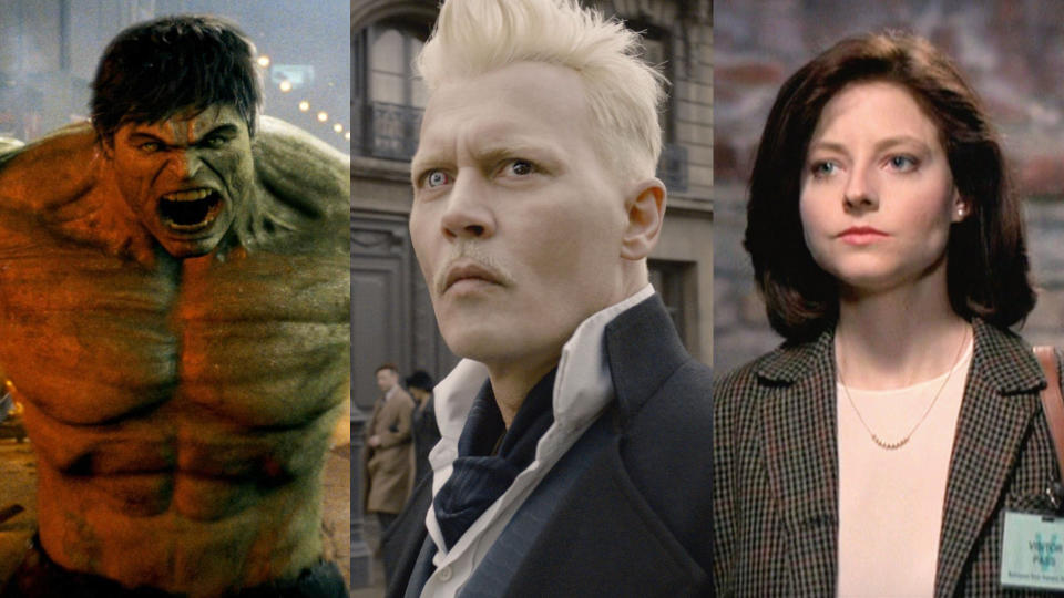 These major movie roles were recast. (Credit: Universal/Warner Bros/Orion)
