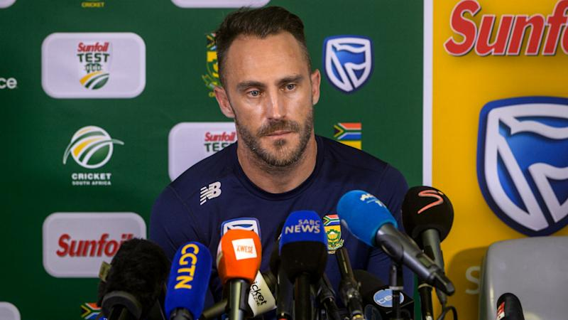 Du Plessis had ball-tampering suspicions prior to Cape Town