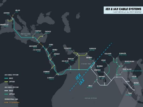 IAX is expected to be ready for service mid-2023 while IEX will be ready for service in early 2024