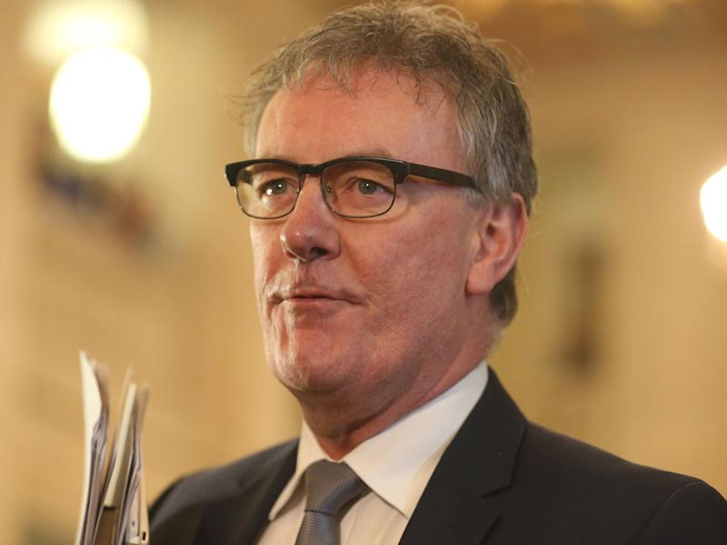 Ulster Unionist leader Mike Nesbitt who has resigned: PA Wire/PA Images
