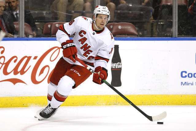 Yet another Hurricane worth adding in Erik Haula. (Photo by Michael Reaves/Getty Images)