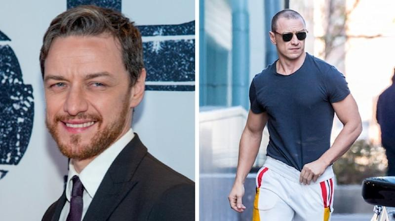 Twitter is thirsty for a nice, tall glass of James McAvoy.