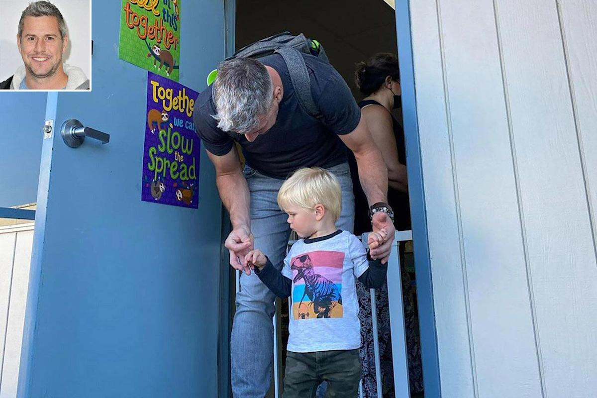 Photo of Ant Anstead Shares Cute Photos of Son Hudson on His First Day of Preschool: 'He Soaked It Up'