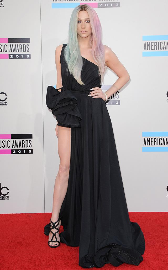 Kesha at the American Music Awards in November 2013. (Photo: Axelle/Bauer-Griffin/FilmMagic)