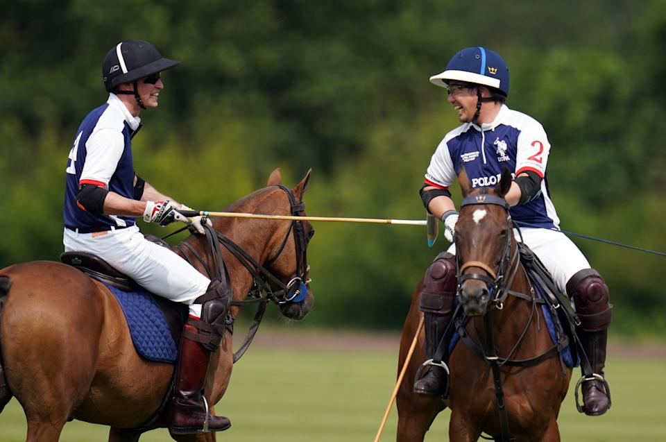 Out-Sourcing Inc Royal Charity Polo Cup 2021 (PA Wire)