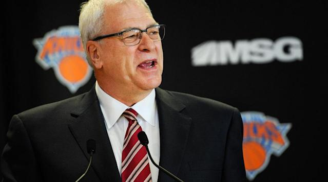 Phil Jackson: Carmelo Anthony 'would be better off somewhere else'