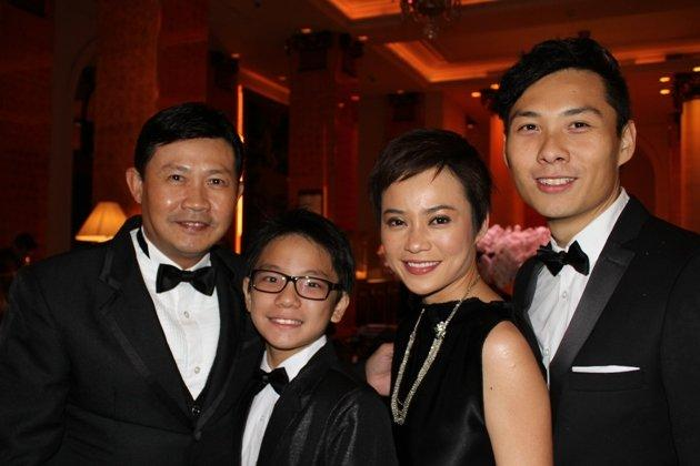 """Ilo Ilo"" cast members Chen Tianwen, Koh Jia Ler, Yeo Yann Yann and director Anthony Chen at the Cannes Film Festival earlier this year. (Photo: Fisheye Pictures)"