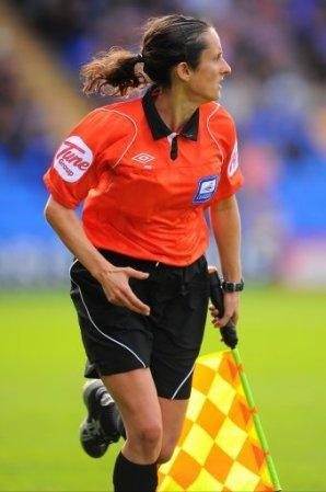 Amy Raynor, assistant referee