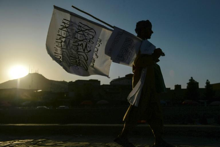 Regional powers may seek to fund proxy groups as they vie for influence in Afghanistan (AFP/Hoshang Hashimi)