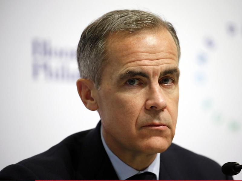 """In a speech on leadership Mr Carney said """"the need for clarity of mind, thought and communication"""" from central bankers had been """"paramount"""" in the financial crisis: Getty Images"""