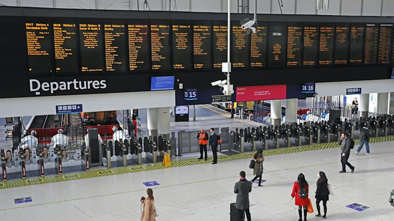 Covid-19 outbreak led to 400m fewer train journeys over just three months