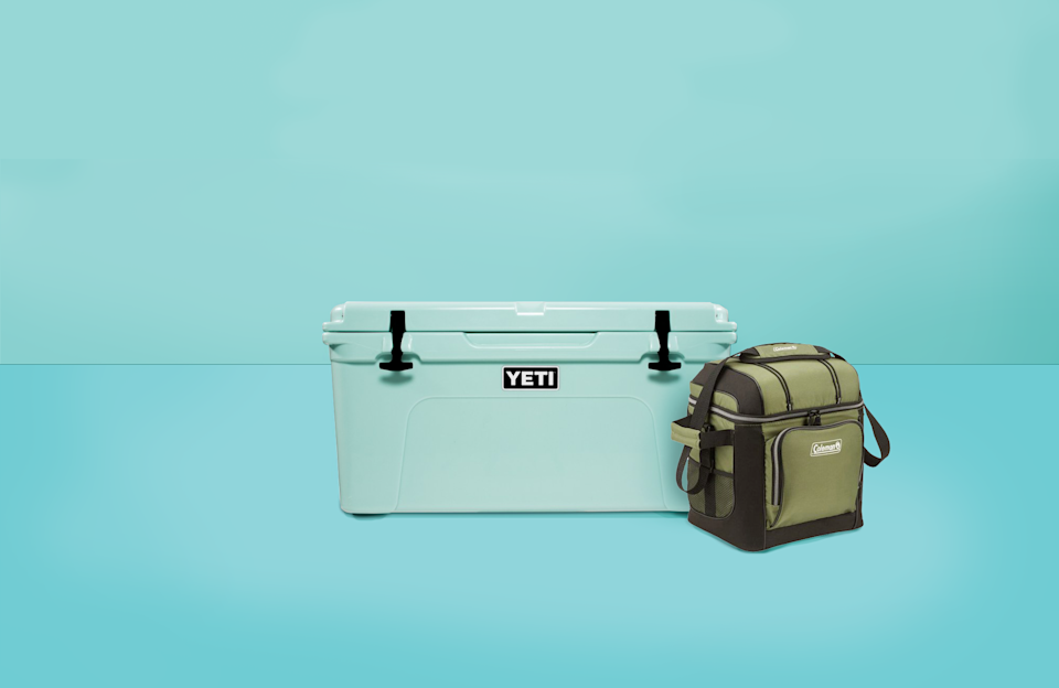 """<p>Coolers keep your food and beverages cold in two ways: either with ice to <em>bring</em> the temperature down, and/or through insulation to <em>keep</em> the temperature down. The <a href=""""https://www.goodhousekeeping.com/institute/about-the-institute/a19748212/good-housekeeping-institute-product-reviews/"""" rel=""""nofollow noopener"""" target=""""_blank"""" data-ylk=""""slk:Good Housekeeping Institute"""" class=""""link rapid-noclick-resp"""">Good Housekeeping Institute</a> regularly tests coolers by recording how long each model stays cold within a controlled setting that mimics real-life environments. Then we use a drop testing machine to evaluate durability. We compare each model for ease of loading and unloading, cleaning and transporting.<br><br>In addition to the coolers we've already tested, we vetted new hard-sided and soft-sided coolers that are easy to fill, carry, use, empty, and clean. We also looked at price, capacity, and useful features for day hikes, <a href=""""https://www.goodhousekeeping.com/home-products/g28412085/best-adult-lunch-boxes/"""" rel=""""nofollow noopener"""" target=""""_blank"""" data-ylk=""""slk:work lunches"""" class=""""link rapid-noclick-resp"""">work lunches</a>, <a href=""""https://www.goodhousekeeping.com/appliances/outdoor-grill-reviews/g2320/best-outdoor-grills-0611/"""" rel=""""nofollow noopener"""" target=""""_blank"""" data-ylk=""""slk:outdoor parties"""" class=""""link rapid-noclick-resp"""">outdoor parties</a>, and camping trips. Our recommendations feature a combination of top-performing picks and highly reviewed products from trusted brands. <strong>Here are the top coolers you can buy in 2021:</strong></p><ul><li><strong>Best Overall Cooler</strong>: <a href=""""https://go.redirectingat.com?id=74968X1596630&url=https%3A%2F%2Fwww.rei.com%2Fproduct%2F852554%2Fyeti-tundra-65-cooler&sref=https%3A%2F%2Fwww.goodhousekeeping.com%2Ftravel-products%2Fg2137%2Fbest-coolers%2F"""" rel=""""nofollow noopener"""" target=""""_blank"""" data-ylk=""""slk:Yeti Tundra 65 Cooler"""" class=""""link rapid-noclick-resp"""">Yeti Tundra 65 Cooler</a><"""