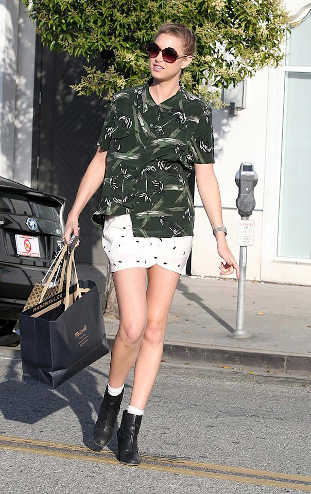 """How Whitney Port ever starred in """"The City"""" and launched her own fashion line is beyond us. This girl's sense of style is (fill in the blank for us). (6/8/2012)"""