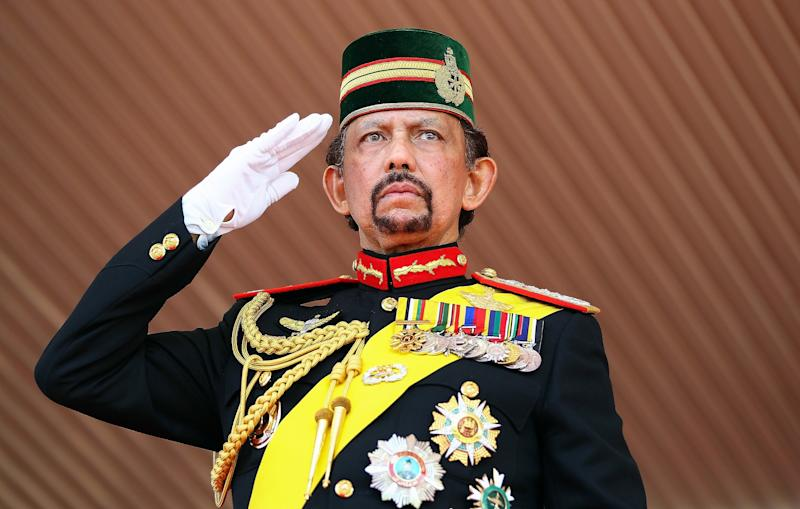 The sultan of Brunei denies media reports that he was mulling the purchase of three landmark hotels including New York's Plaza