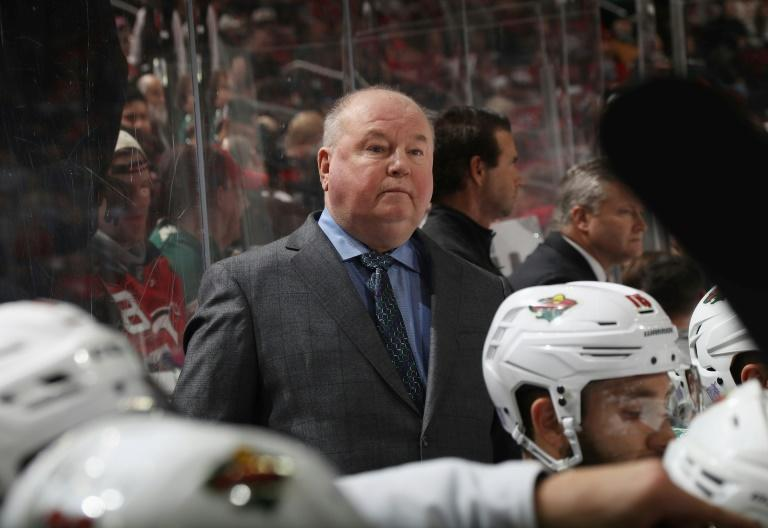 Bruce Boudreau was fired on Friday as coach of the NHL's Minnesota Wild