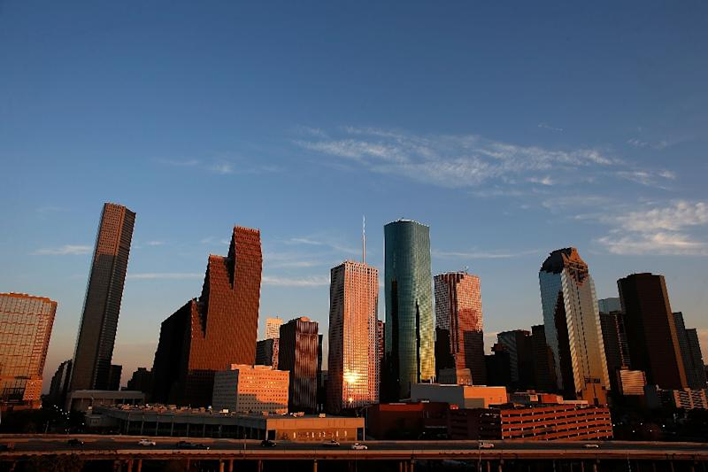 A view of the city of Houston, where authorities said Monday they have arrested a 25-year old man who allegedly planned to bomb a Confederate statue