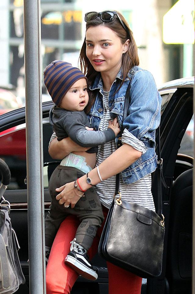 "<p class=""MsoNormal""><b>Miranda Kerr's son Flynn: 9 pounds, 12 ounces</b></p><p class=""MsoNormal"">Victoria's Secret model Miranda Kerr has said that giving birth to Flynn, her son with her ""Lord of the Rings"" husband Orlando Bloom, was some of the worst pain she's experienced. The adorable fellow weighed in at 9 pounds, 12 ounces. ""I actually thought I was going to die at one point and left my body,"" she told Australian <em>InStyle</em>. ""I was looking down on myself, the pain was so intense."" Of course, the baby's size didn't make it any more difficult for Kerr to shed the extra pounds she packed on during pregnancy, although she claims she wouldn't have minded if her bikini body didn't return. ""Flynn is a big baby...and I thought to myself, 'I have so much more that I want to do aside from modeling,"" she said. ""I can live with my body not being in shape if I have a healthy son. It's worth it."" Yeah, right!</p>"