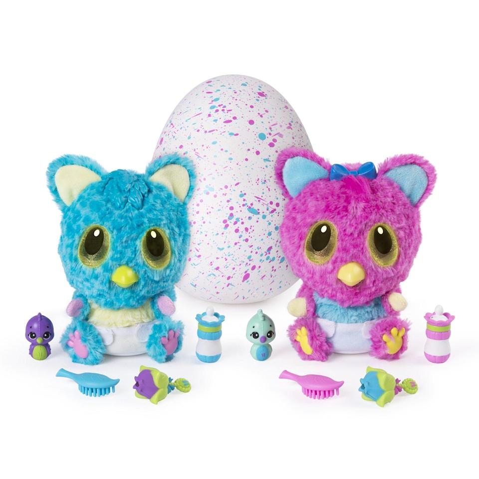 <p>We all know a kid who will love this <span>Hatchimals HatchiBabies Cheetree</span> ($20).</p>