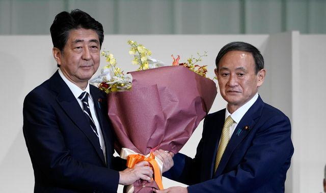 Yoshihide Suga to replace Shinzo Abe as Japan's PM after winning party election