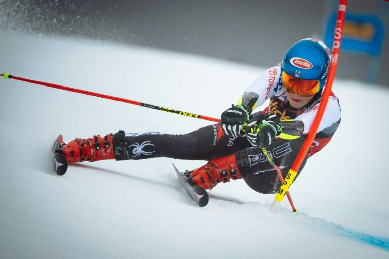 Mikaela Shiffrin insists she does not think of herself as the face of skiing