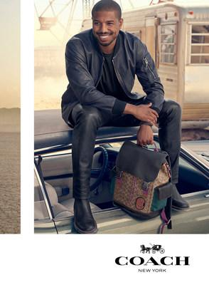 COACH LAUNCHES MEN'S SPRING 2019 GLOBAL ADVERTISING CAMPAIGN - Michael B. Jordan Debuts as Global Face of Coach Men's in His First Campaign for the Brand