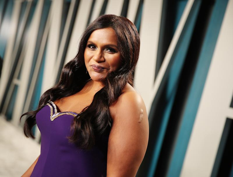 Mindy Kaling (Photo by Rich Fury/VF20/Getty Images for Vanity Fair)