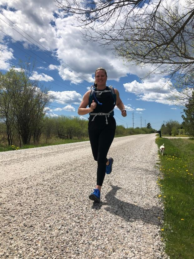 Melissa Kirk, a registered social worker who has worked with survivors of sex trafficking, is running a half-marathon to help raise money for the initiative.