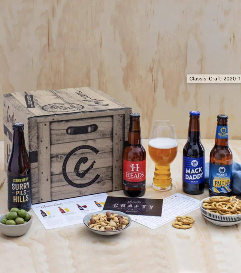 Classic Craft Beer Box, $89, from Craft Cartel