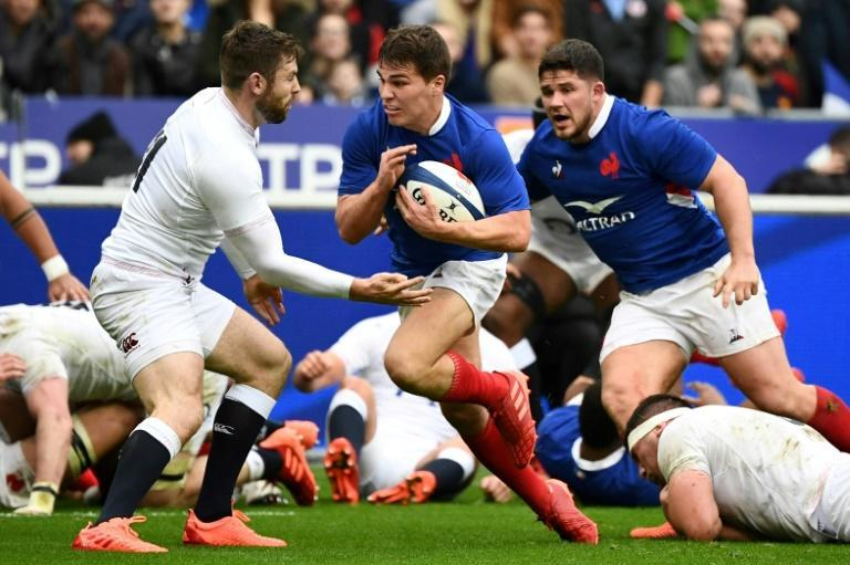 Antoine Dupont's France were beaten on points difference to last year's Six Nations title by England