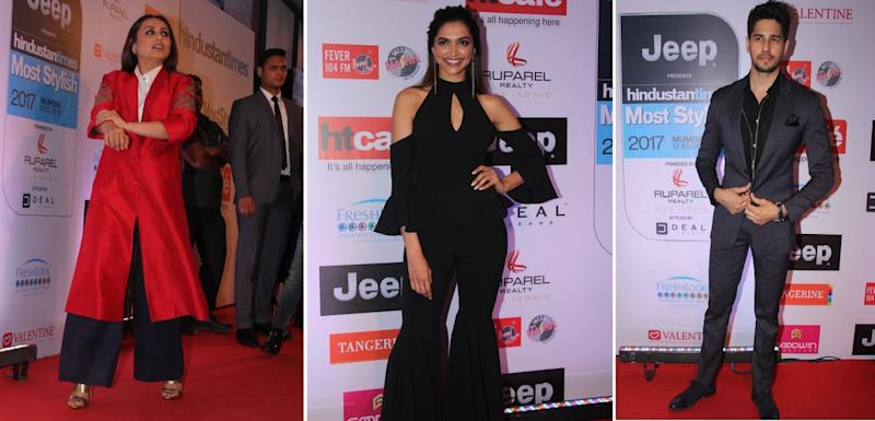 HT Most Stylish Awards 2017: Deepika bonds with ex-beau Ranbir's mother Neetu, and other top moments; check winners' list