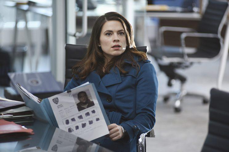 Hayley Atwell as Hayes Morrison in Conviction. (Photo: John Medland/ABC)