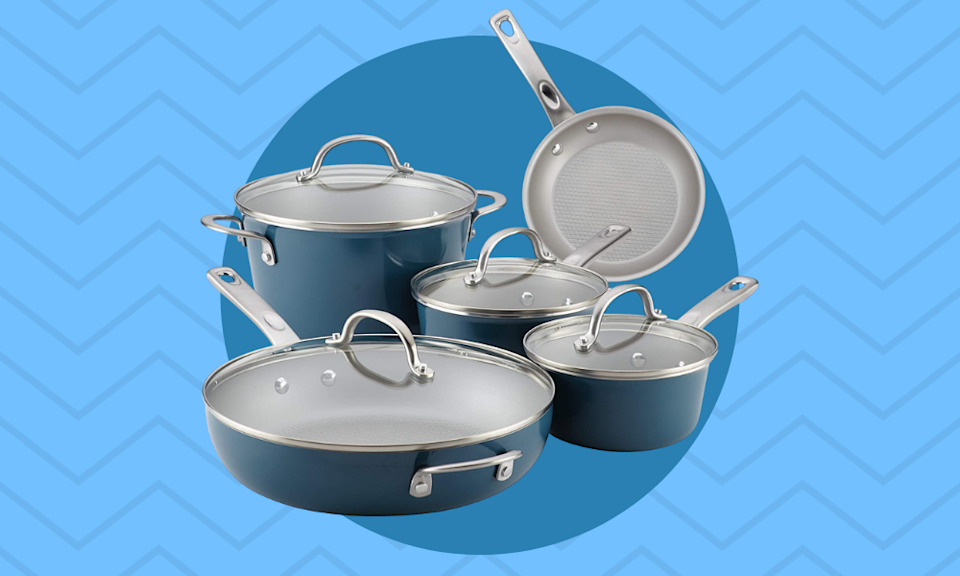 These pots and pans are 35 percent off today! (Photo: Amazon)