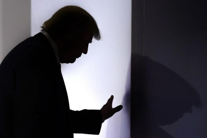 """It wasn't just incompetence that made Trump flub the COVID response. It was willful negligence. <span class=""""copyright"""">(Laurent Gillieron / Keystone via Associated Press)</span>"""