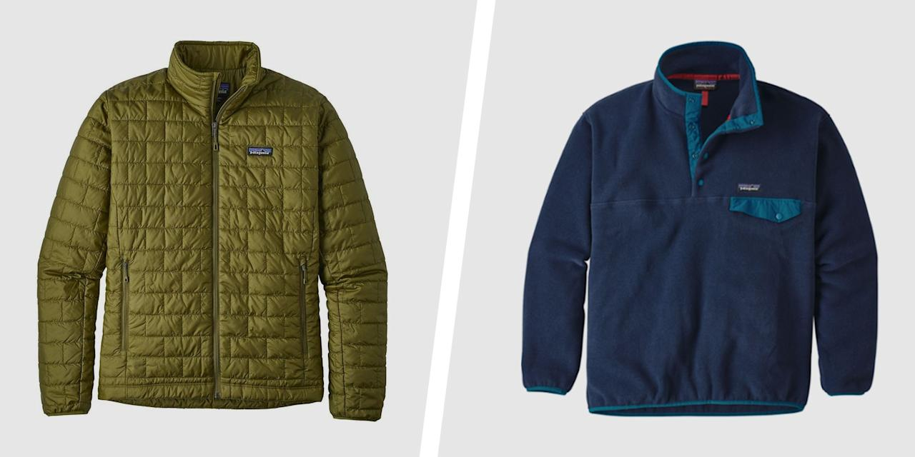 "<p>Now that fall's in full swing, it's a great time to stock up on some extra layers. REI can even help you save on autumn essentials with its <a href=""https://www.rei.com/rei-garage/b/patagonia"" target=""_blank"">serious discounts on Patagonia</a> fleeces, vests, flannels, and more.</p><p>Patagonia is one of the most in-demand outdoor brands around, and for good reason. Not only does the brand make comfortable and stylish clothing, but it also emphasizes sustainability and ethical awareness. Whenever you put on Patagonia's gear, you'll look good, feel good, and do some good for Mother Nature.</p><p>Whether you're stocking up on some staples, or just want to see what all the hype of Synchilla fleece is about, check out these deals from this REI sale. If you spend over $100, REI will even automatically take an <a href=""https://www.rei.com/rei-garage/coupon"" target=""_blank"">extra $20 off</a> until October 17.</p>"