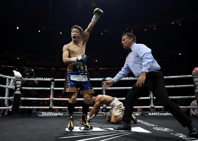 Naoya Inoue destroys Emmanuel Rodriguez inside two rounds to become new IBF bantamweight champion