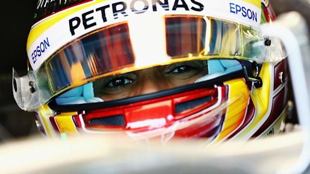 Lewis Hamilton is the man to beat at the Australian Grand Prix after a dominant showing in Friday practice.