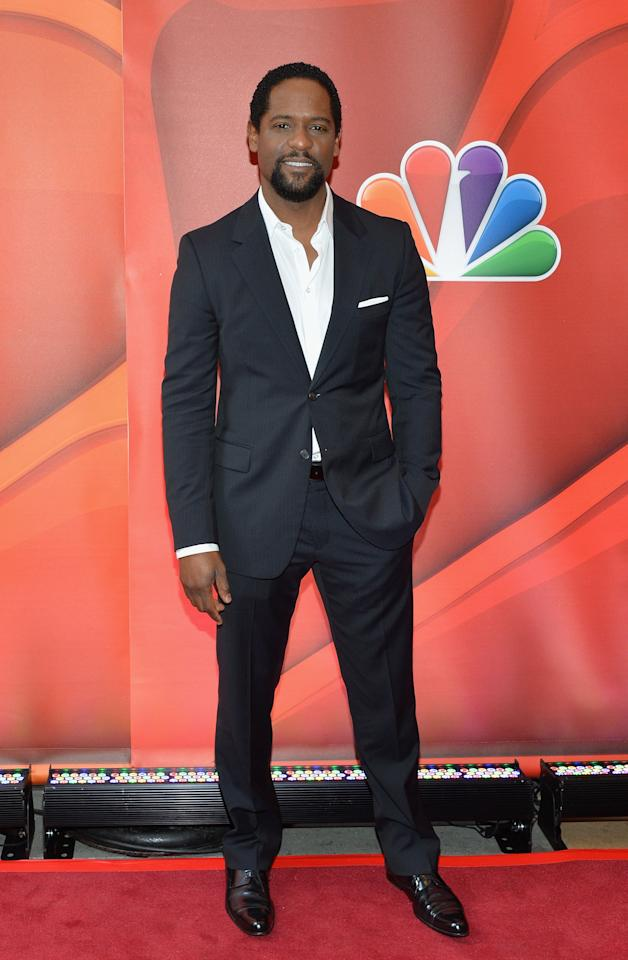 NEW YORK, NY - MAY 13:  Actor Blair Underwood  attends 2013 NBC Upfront Presentation Red Carpet Event at Radio City Music Hall on May 13, 2013 in New York City.  (Photo by Slaven Vlasic/Getty Images)