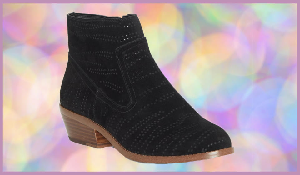 Snag these booties and more on sale. (Photo: Nordstrom Rack)