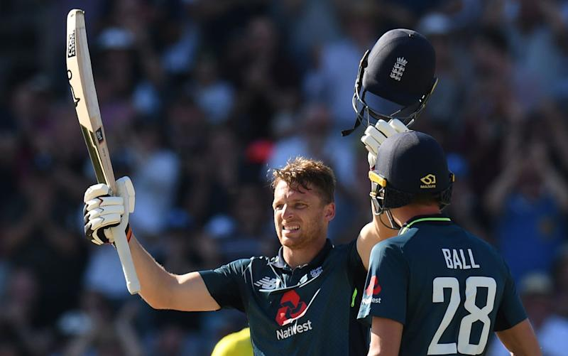 Jos Buttler showed wonderful intelligence and discipline in his slowest ODI hundred - AFP