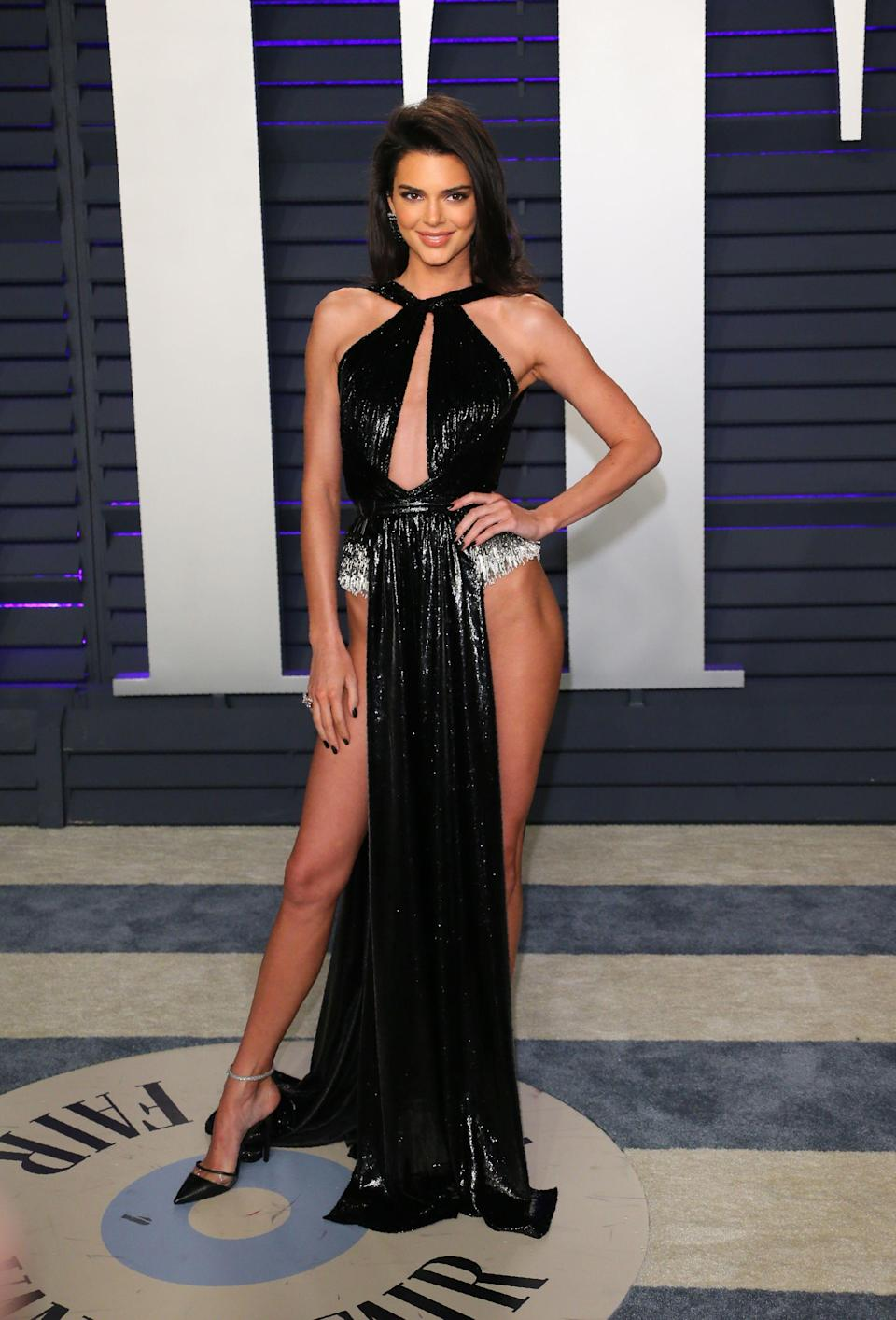 <p>Wearing a look from Lebanese-American couture designer Rami Kadi's Spring 2019 collection. <em>[Photo: Getty]</em> </p>