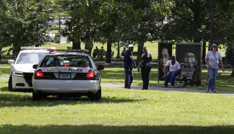 Police make arrest after 46 people overdose at CT park